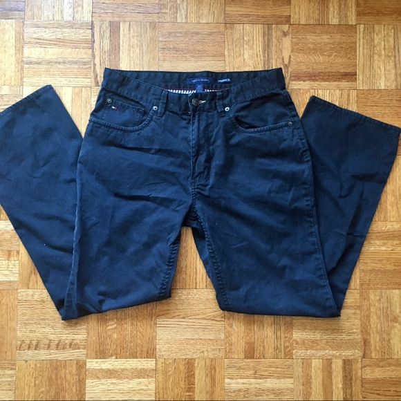 Tommy Hilfiger Other - Tommy Hilfiger Relaxed Fit Black Jeans